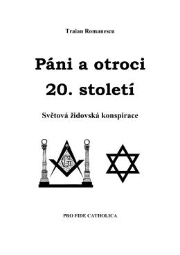 Světová židovská konspirace - Spiknutí proti lidstvu a církvi