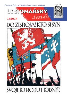 Legionarsky smer 1 2014-1 - Československá obec legionářská