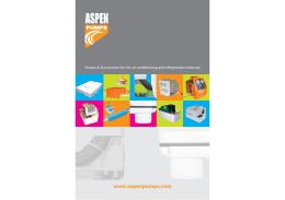 Čerpadla kondenzátu ASPEN