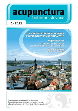 2011 - 1 - Česká lékařská akupunkturistická společnost