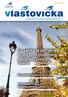 Vydanie č. 13 / 2012