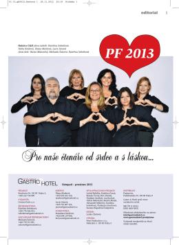 Stáhněte si časopis Gastro & hotel 06 / 2012 ve formátu PDF