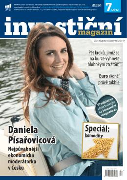 Investiční magazín 7/2012 čtěte ZDE.