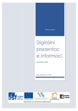 Digitální prezentace informací