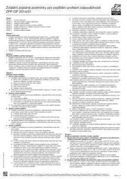 ZPP OP 2014/01 - Česká společnost certifikovaných odhadců