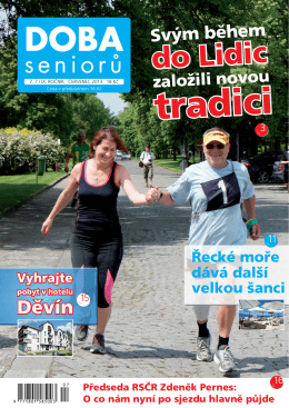 Doba Seniorů 7/2013