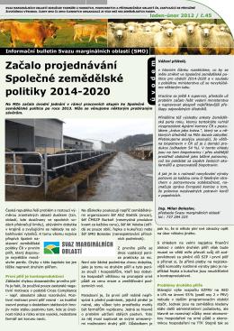 Info bulletin SMO leden+únor 2012