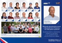Občanská demokratická strana a Nezávislé Horní Počernice – do