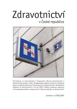 Zdrav 08_12.indd - Zdravotnictví v ČR