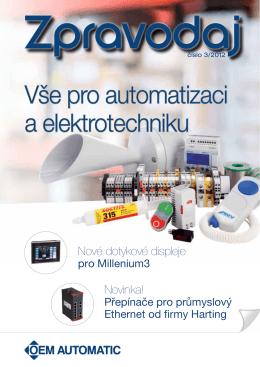 Vše pro automatizaci a elektrotechniku