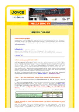 Media Info 7/2013