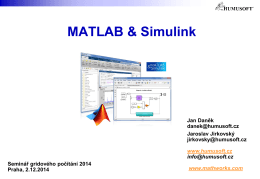 MATLAB 5 - MetaCentrum