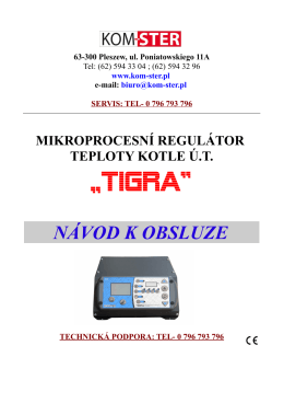 """TIGRA"" - Kom-Ster"