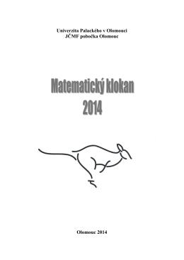 Cvrček 2014 - matematicky klokan