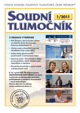 1/2011 - KST ČR