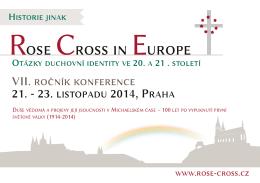 leták (česky) - Růže a kříž v Evropě 2014