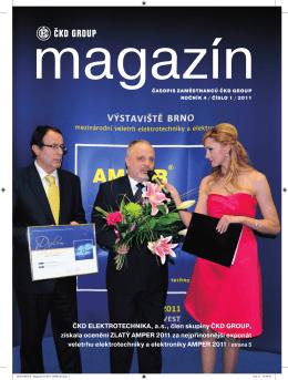 ČKD Magazín 1 - 2011