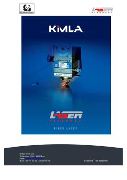 katalog Kimla lasery JČ