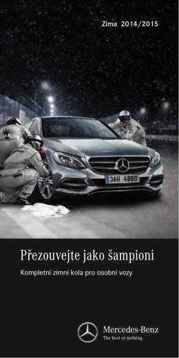 Kompletní zimní kola 2015 - Mercedes-Benz