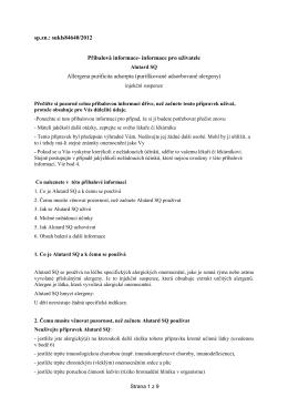 sp.zn.: sukls84640/2012 Příbalová informace- informace pro