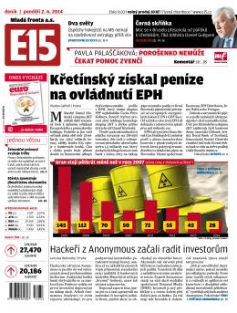 Křetínský získal peníze na ovládnutí EPH