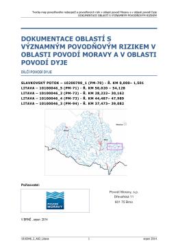DYJ-02 Litava - Zveřejněné návrhy plánů povodí a plánů