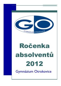 Ročenka čtvrtých ročníků 2012