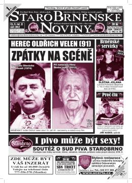 STAROBRNENSKE }NOVINY - StaroBrněnské noviny