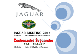 JAGUAR MEETING 2014.pdf - Jaguar Enthusiasts` Club