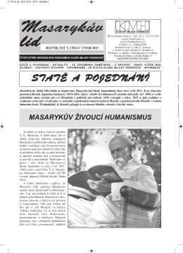Masarykův lid v PDF 1/2015