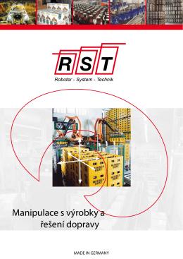 Manipulace s výrobky a řešení dopravy