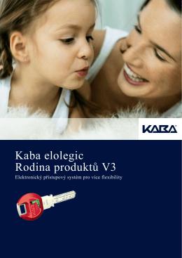 Kaba elolegic Rodina produktů V3