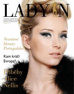 Patnácté číslo časopisu Dámského investičního klubu LADY IN