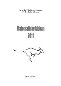 2011 - matematicky klokan