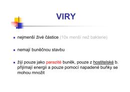 04 Viry a bakterie