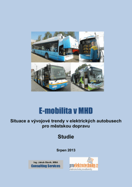 E-mobilita v MHD - Proelektrotechniky.cz