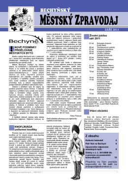 září - Město Bechyně