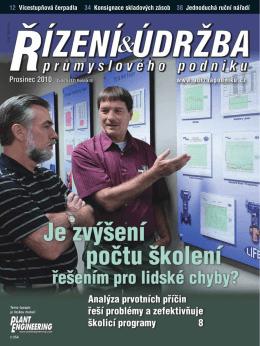 Stáhněte si č. 12 v PDF - Česká společnost pro údržbu