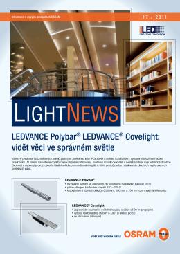 LEDVANCE Polybar® LEDVANCE® Covelight: vidět