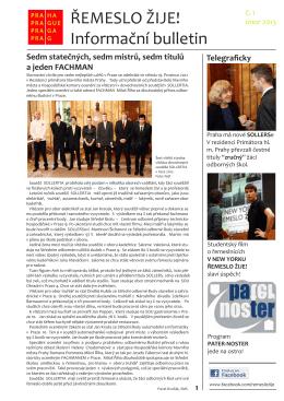 Bulletin ke stažení v PDF