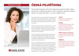 Česká pojišťovna – technický pohled