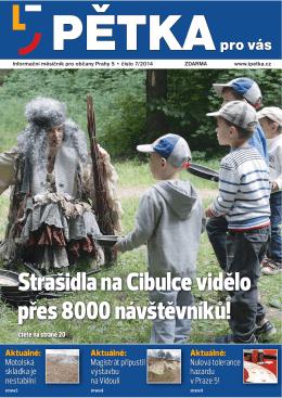 Strašidla na Cibulce vidělo přes 8000 návštěvníků!