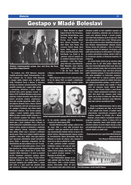 Juřena, J.: Gestapo v Mladé Boleslavi, In.