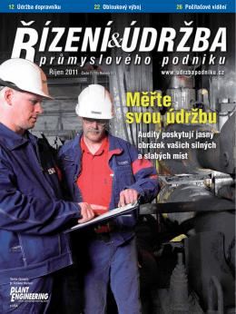 Stáhněte si č. 19 v PDF - Česká společnost pro údržbu