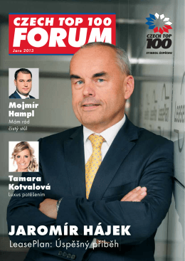 czech top 100 forum | jaro 2013