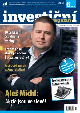 Aleš Michl: - Investiční magazín