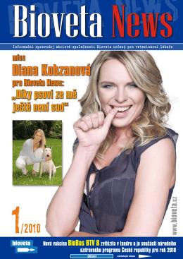 Bioveta News 01/2010