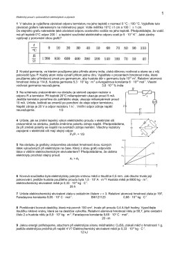 el. proud v polovod., kapalinách a plynech