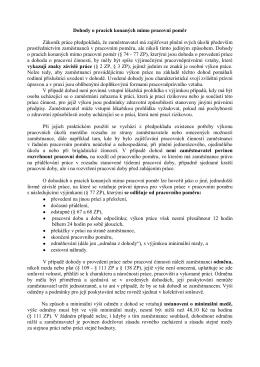 Dohody o pracích konaných mimo pracovní poměr Zákoník práce