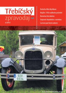 Třebíčský zpravodaj č. 5/2012